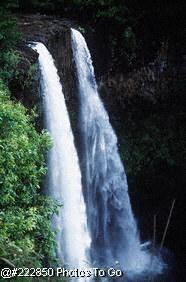 Waterfalls in Kauai